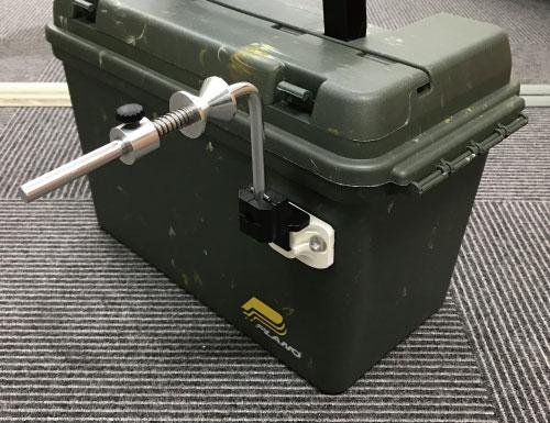 つりピタ/ラインワインダー(ビス固定ベースセット)BM-RW-B使用例