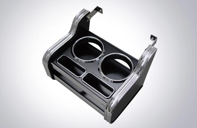 Interior CupHolder 新型キャラバン用 カラー:レザーブラック