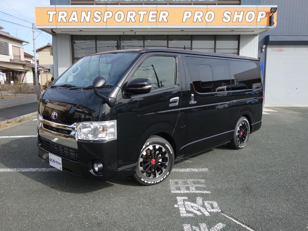 未登録車 ハイエースS-GL標準ボディー ガソリン2WD