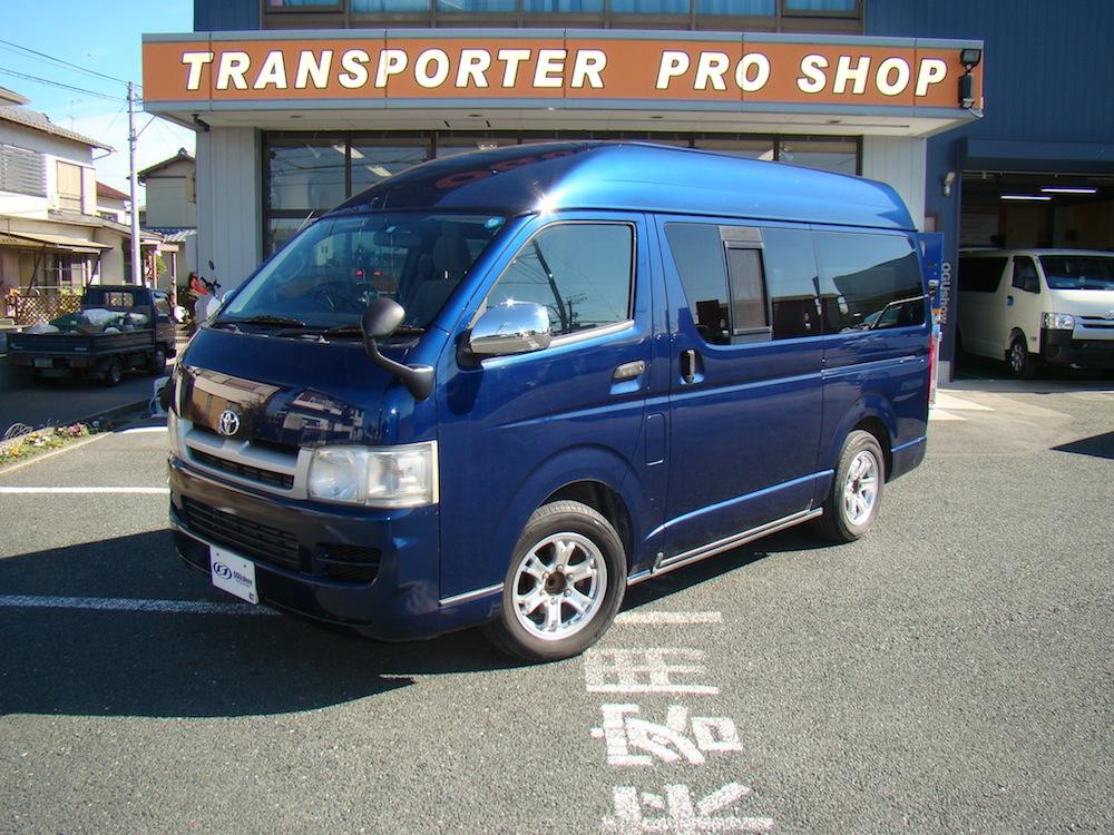 平成19年式 ハイエースDX ロングハイルーフ ガソリン2WD